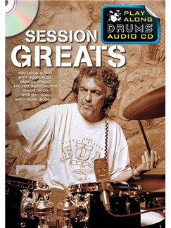 Play Along Drums Audio CD: Session Greats Books and CDs | Drums