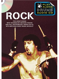 Play Along Drums Audio CD: Rock Books and CDs | Drums