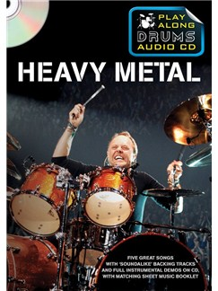 Play Along Drums Audio CD: Heavy Metal Books and CDs | Drums