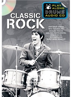 Play Along Drums Audio CD: Classic Rock Books and CDs | Drums