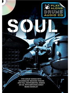 Play Along Drums Audio CD: Soul CD et Livre | Batterie