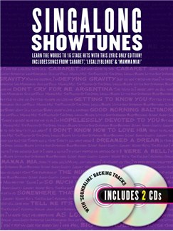 Singalong Showtunes Books and CDs | Lyrics Only