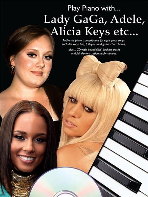 Play Piano With... Lady Gaga, Adele, Alicia Keys etc. - Piano, Vocal ...