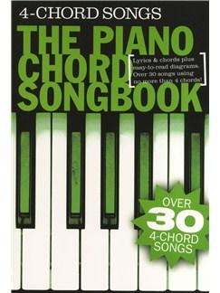Piano Chord Songbook: 4 Chord Songs Books | Lyrics & Piano Chords