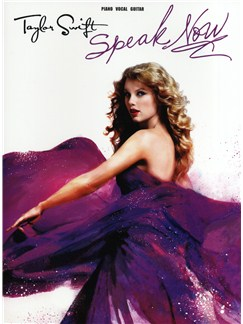 Taylor Swift: Speak Now - PVG Books | Piano, Vocal & Guitar
