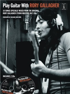 Play Guitar With Rory Gallagher Books and CDs | Guitar Tab, Guitar