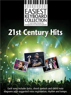 Easiest Keyboard Collection: 21st Century Hits Livre | Clavier