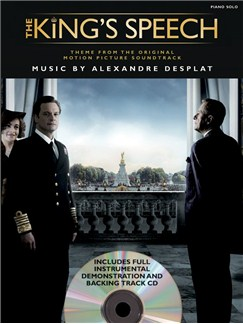 Alexandre Desplat: The King's Speech Theme - Single Sheet (CD Edition) Books and CDs | Piano