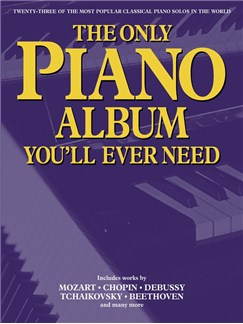 The Only Piano Album You'll Ever Need Livre | Piano