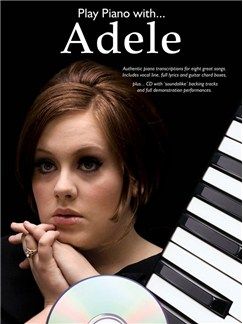Play Piano With... Adele Books and CDs | Piano, Vocal & Guitar