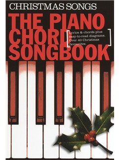 Piano Chord Songbook: Christmas Songs Books | Lyrics & Piano Chords