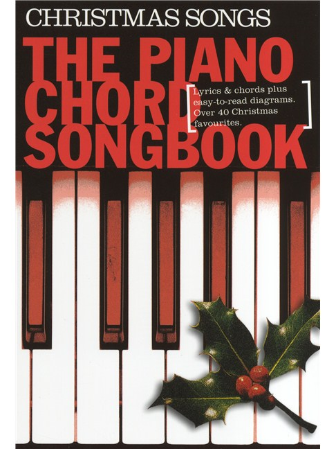 Piano Chord Songbook Christmas Songs Lyrics Piano Chords Sheet