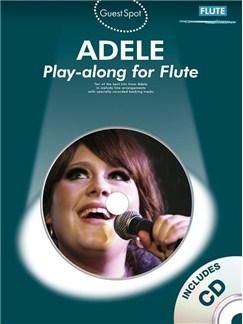 Guest Spot: Adele - Flute CD et Livre | Flûte Traversière