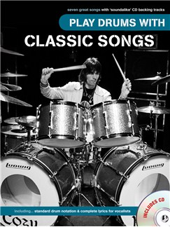Play Drums With Classic Songs Books and CDs | Drums
