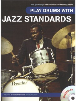 Play Drums With Jazz Standards Books and CDs | Drums