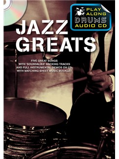 Play Along Drums Audio CD: Jazz Greats Books and CDs | Drums