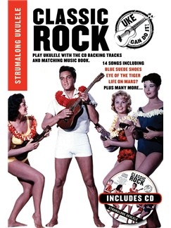 Strumalong Ukulele: Classic Rock Books and CDs | Ukulele