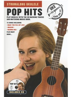 Strumalong Ukulele: Pop Hits CD et Livre | Ukelele