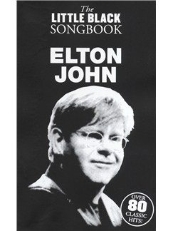 The Little Black Songbook: Elton John Books | Lyrics & Chords