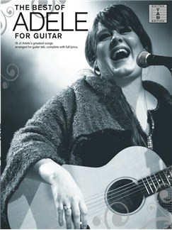 Adele: The Best Of (Guitar Tab) Livre | Tablature Guitare, Guitare