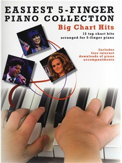 Easiest 5-Finger Piano Collection: Big Chart Hits Livre | Piano