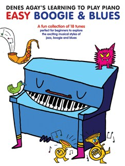 Denes Agay's Learning To Play Piano - Boogie & Blues Books | Piano