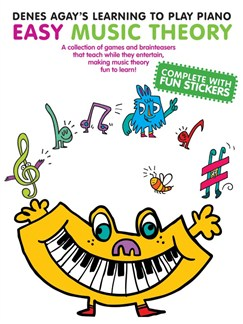 Denes Agay's Learning To Play Piano - Easy Music Theory Books | Piano