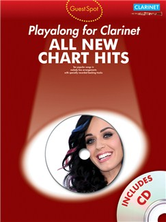 Guest Spot: All New Chart Hits (Clarinet) Books and CDs | Clarinet