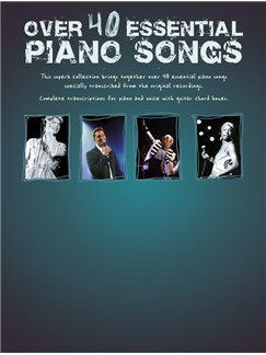 Over 40 Essential Piano Songs Books | Piano, Vocal & Guitar