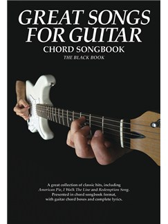 Great Songs For Guitar - Black Book Books | Lyrics & Chords