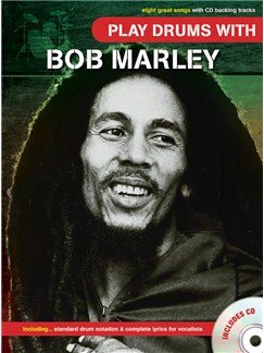 Play Drums With... Bob Marley Books and CDs   Drums