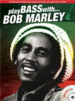 Play Bass With... Bob Marley Books and CDs | Bass Guitar Tab, Bass Guitar