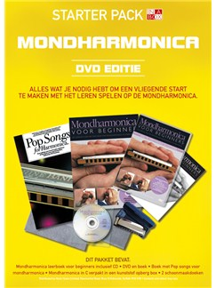 In A Box Starter Pack: Mondharmonica (Dutch) Books, CDs, DVDs / Videos and Instruments | Harmonica