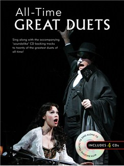 All-Time Great Duets Books and CDs | Voice (Duet), Piano Accompaniment (Duet)