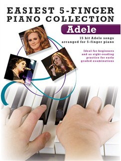 Easiest 5-Finger Piano Collection: Adele Books | Piano