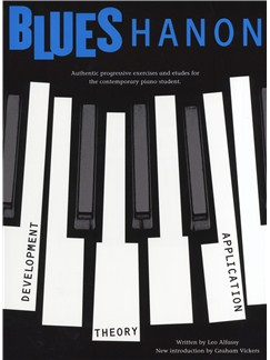 Leo Alfassy: Blues Hanon (Revised Edition) Books | Piano