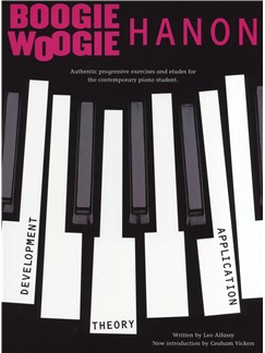 Leo Alfassy: Boogie Woogie Hanon (Revised Edition) Books | Piano