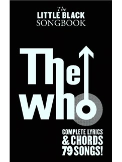 The Little Black Songbook: The Who Books | Lyrics & Chords