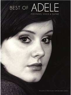 Best Of Adele Books | Piano, Vocal & Guitar