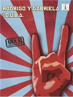 Rodrigo Y Gabriela/C.U.B.A: Area 52 Books | Guitar, Guitar Tab