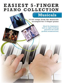 Easiest 5-Finger Piano Collection: Musicals Books | Piano