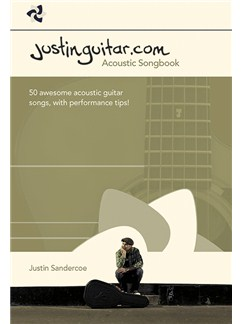 The Justinguitar.com Acoustic Songbook Livre | Tablature Guitare, Guitare