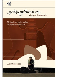 The Justinguitar.com Vintage Songbook Books | Guitar