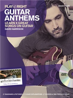 David Harrison: Play It Right - Guitar Anthems Books and DVDs / Videos | Guitar Tab, Guitar