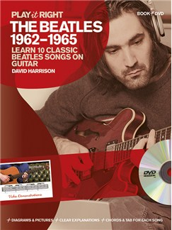 David Harrison: Play It Right - The Beatles 1962-1965 Books and DVDs / Videos | Guitar, Guitar Tab