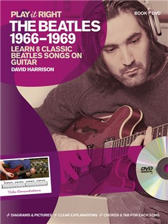 David Harrison: Play It Right - The Beatles 1966-1969 Books and DVDs / Videos | Guitar, Guitar Tab