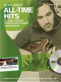 David Harrison: Play It Right - All-Time Hits Books and DVDs / Videos | Guitar, Guitar Tab