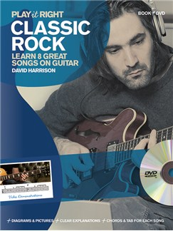 David Harrison: Play It Right - Classic Rock Books and DVDs / Videos | Guitar, Guitar Tab