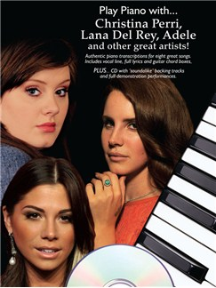 Play Piano With... Christina Perri, Lana Del Ray, Adele And Other Great Artists Books and CDs | Piano, Vocal & Guitar