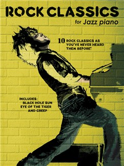 Rock Classics For Jazz Piano Books | Piano